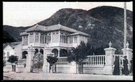 Antigua Casa Santa cuando estaba en Usaquén